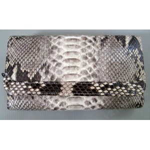 Кошелек бумажник клатч 100% кожа змеи - ПИТОН !