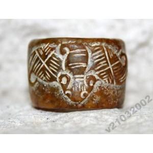 Кольцо амулет ЛЕТУЧАЯ МЫШЬ долголетие богат. Тибет