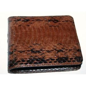 Натуральная кожа змеи кобра  NAJA SPUTATRIX бумажник портмоне