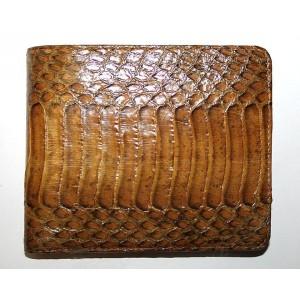 Натуральная кожа змеи кобра  NAJA SPUTATRIX портмоне бумажник