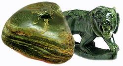 камень Нефрит - талисман от болезней, живой камень