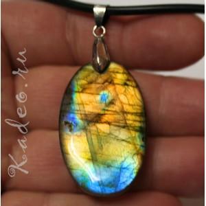 Кулон из натурального ЛАБРАДОРА / лабрадорит, - камень мистик разновидность - Спектролит , подвеска