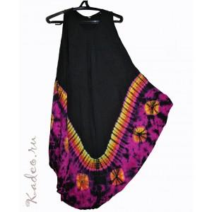 Летнее платье сарафан 48-2Х Батик 100% cotton жатый, Таиланд