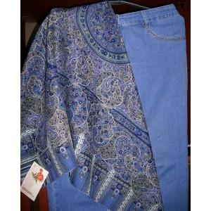 Русский стиль, Павловопосадская мануфактура, платок шерстяной «День рождение»